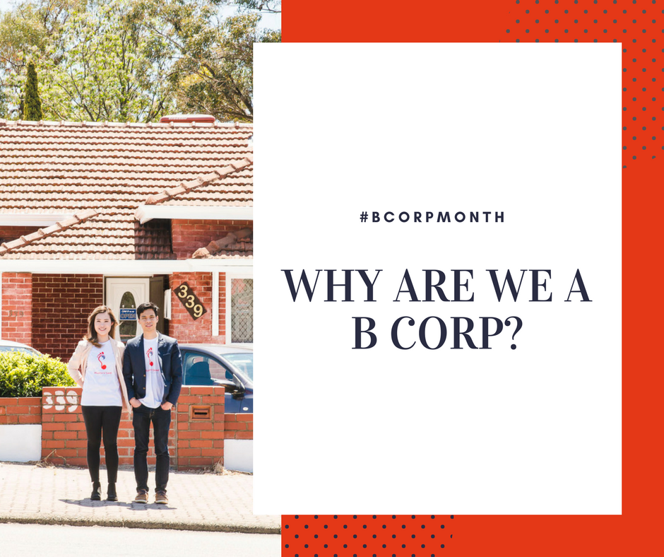 B Corp – why are we doing this?