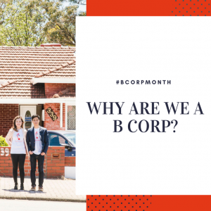 B Corporation – why are we doing this?