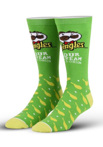 A pair of Pringles socks