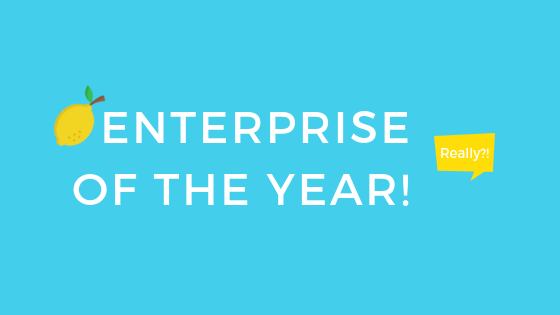 Enterprise of the Year 🏆 ! Really?!