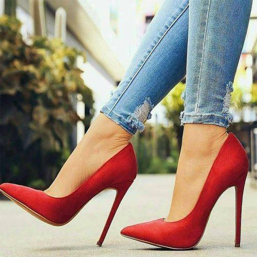 High heels plantar fasciitis