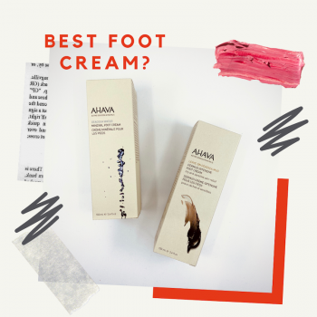 Best foot cream - Dermud vs Mineral