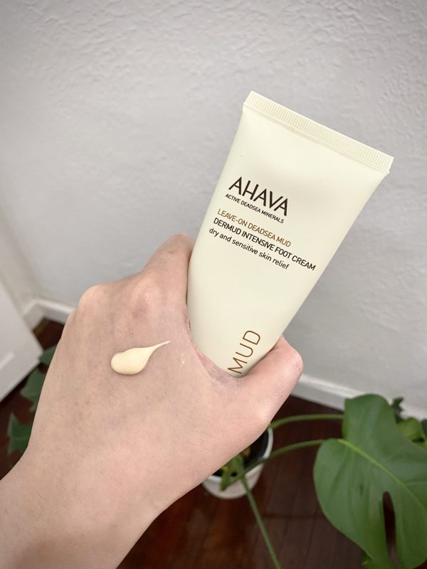 AHAVA Dermud Foot Cream - the best foot cream for cracked heels