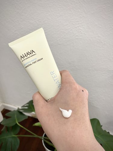 AHAVA Mineral Foot Cream - the best foot cream