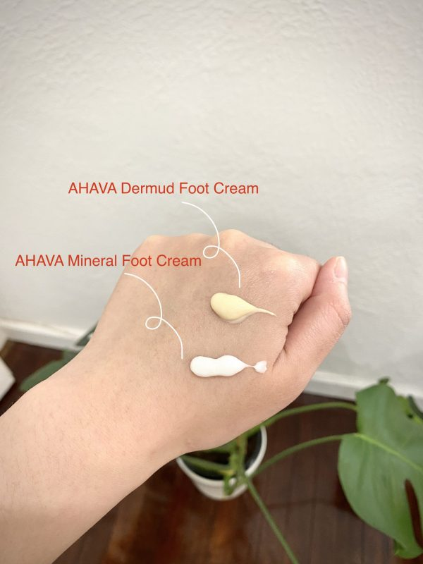 AHAVA Foot Creams comparison - which is the best foot cream for you?