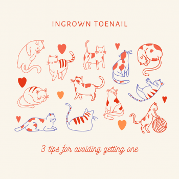 Ingrown toenail tips blog cover
