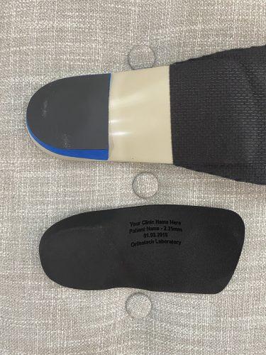 3D printed orthotics vs polypropylene orthotic
